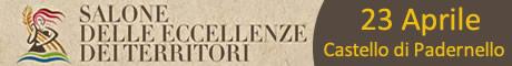 Banner Salone delle eccellenze e Territori a Padernello - Brescia