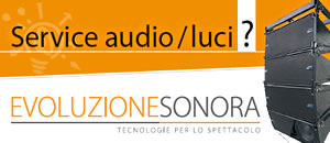 service audio luci e video