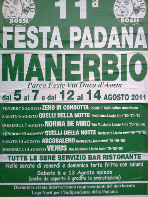 festa padana Manerbio