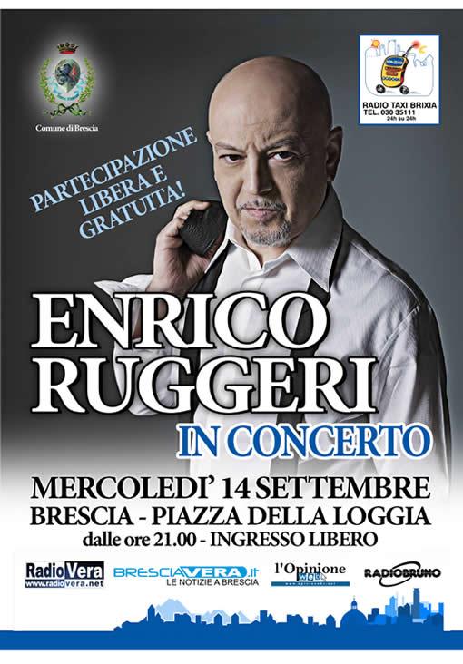 Enrico Ruggeri in concerto a Brescia