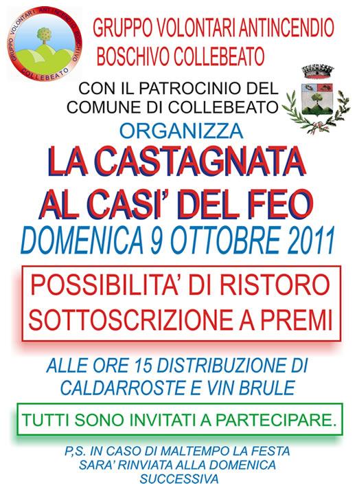 Castagnata Collebeato 2011