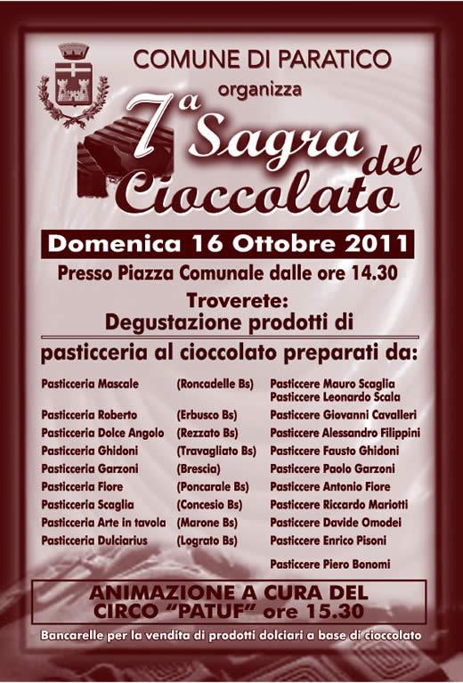sagra del cioccolato