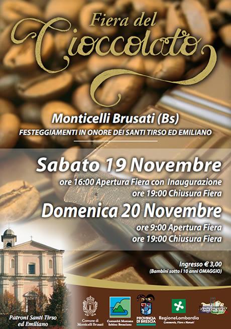 Fiera del cioccolato a Monticelli Brusati