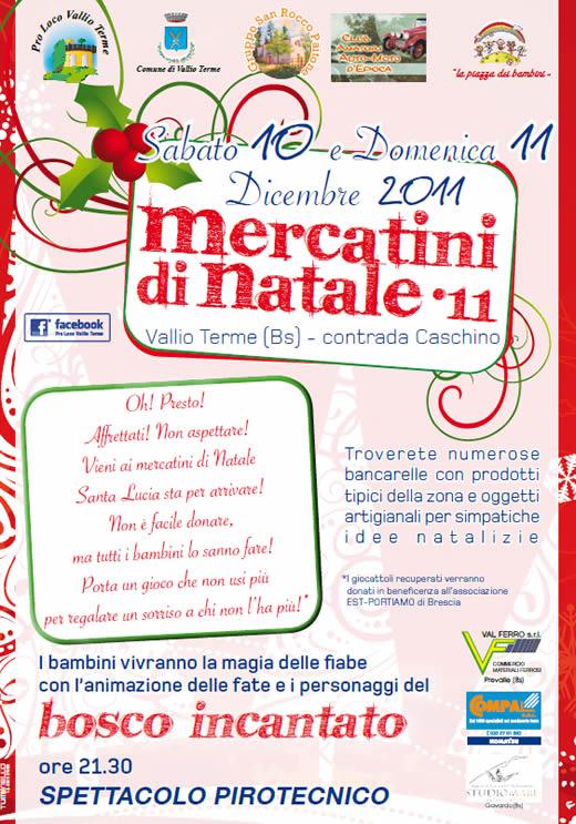 mercatini di natale a Vallio Terme