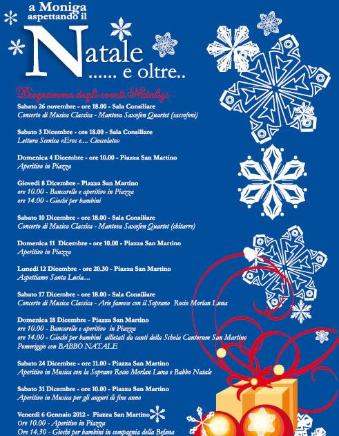 Natale e oltre a Moniga del Garda