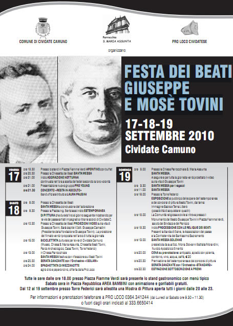 Festa dei beati a Cividate Camuno