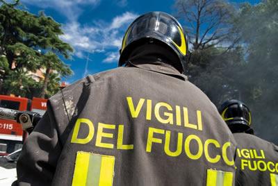 vigili del fuoco a verolanuova