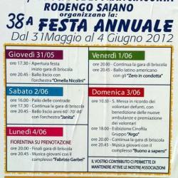 festa annuale avis a Rodengo Saiano
