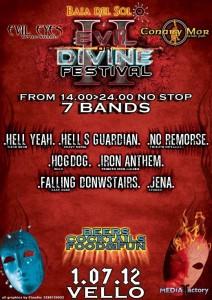 II Evil or Divine Festival 2012