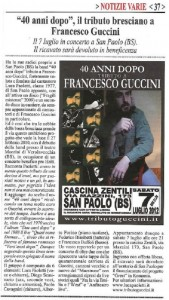 Tributo a Francesco Guccini