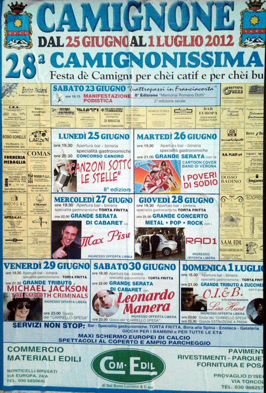 camignonissima 2012