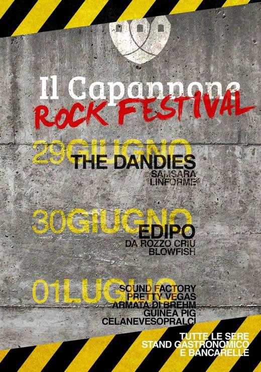 capannone rock festival