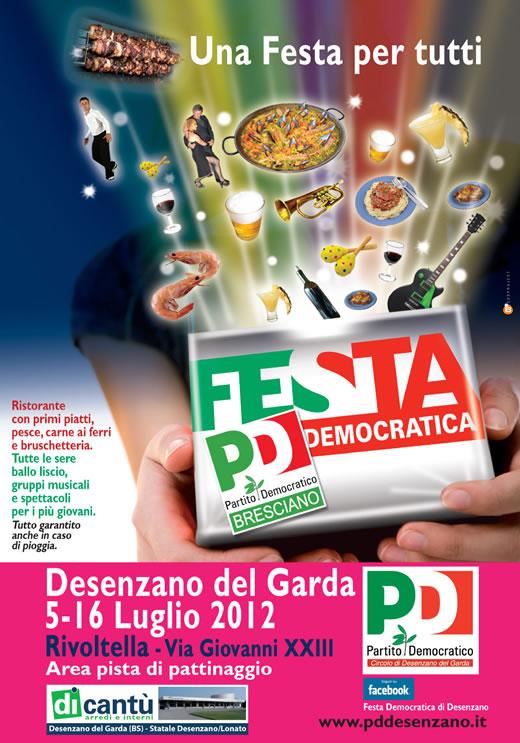 festa PD a Desenzano del Garda