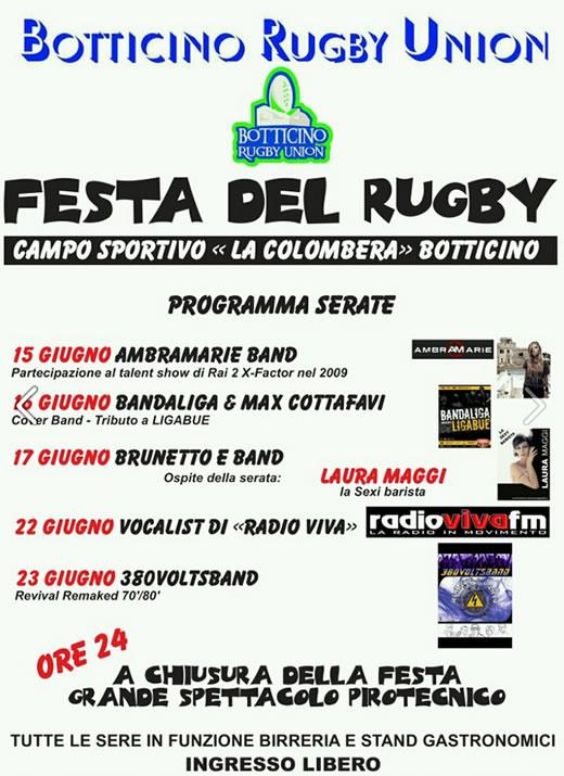 festa del rugby a Botticino