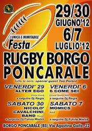 festa del rugby a Poncarale