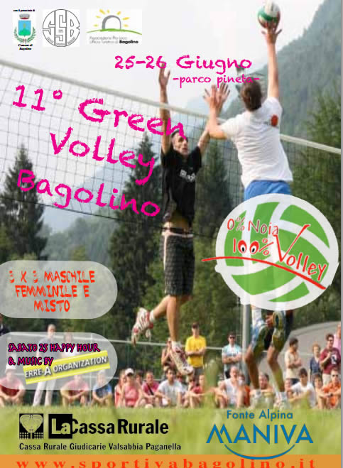 green volley a Bagolino