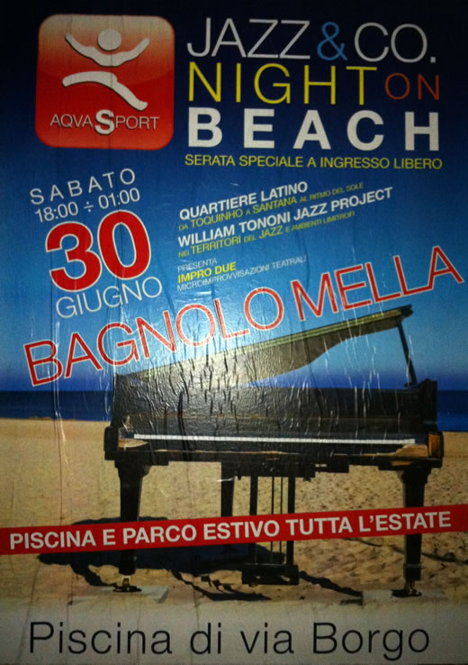 jazz on the beach a bagnolo mella