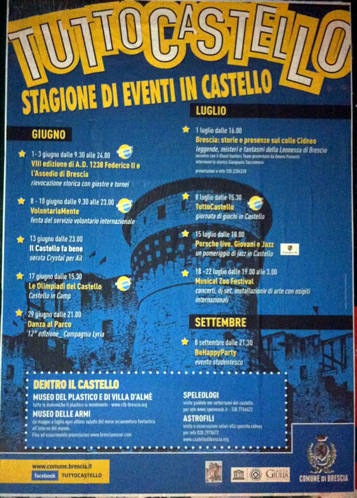tutto castello a Brescia