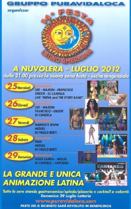 14 Festa Latino Americana 2012 Nuvolera