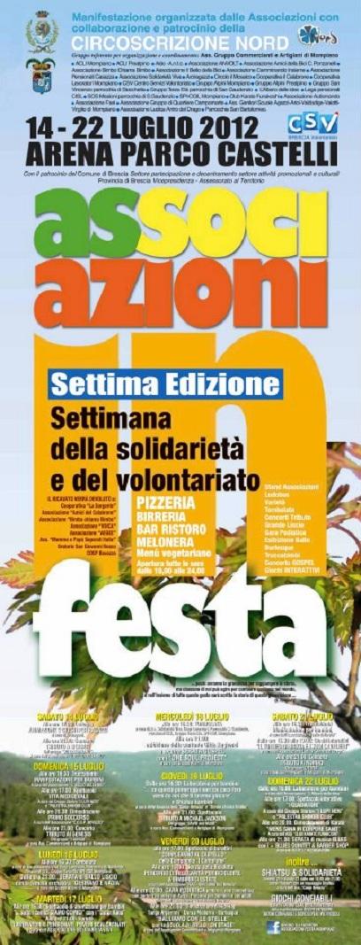 Associazioni in festa 7 -2012