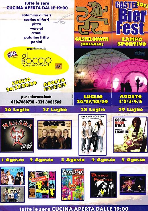 Castel Bier Fest 2012
