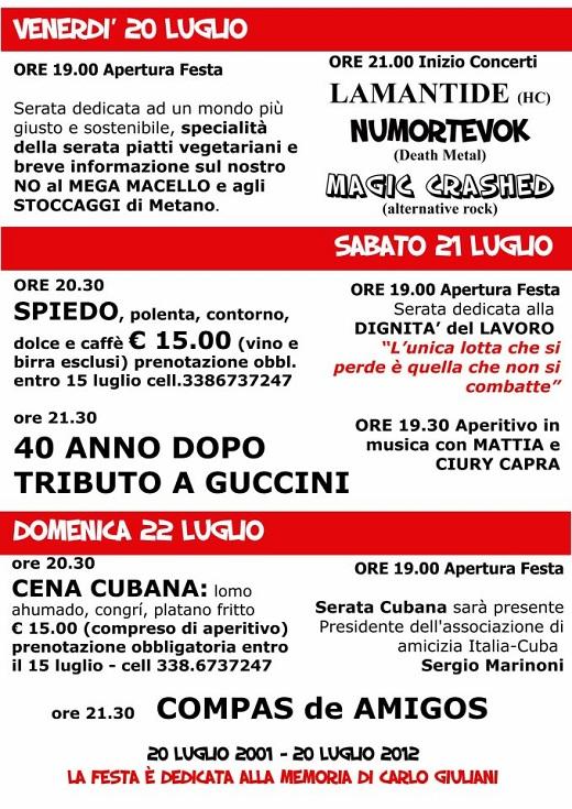 Festa in rosso Verolanuova