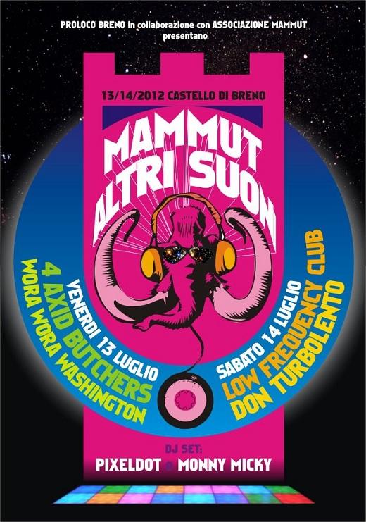 Mammut altri suoni 2012