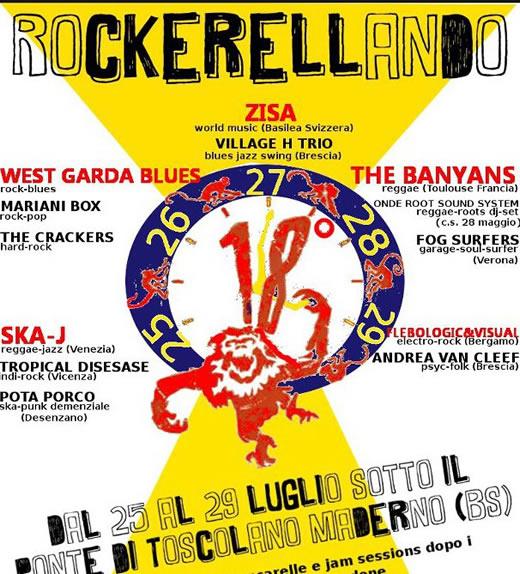 Rockerellando a Toscolano Maderno