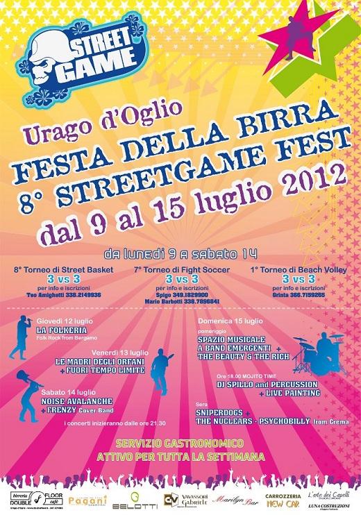 Streetgame fest-Urago d'oglio 2012