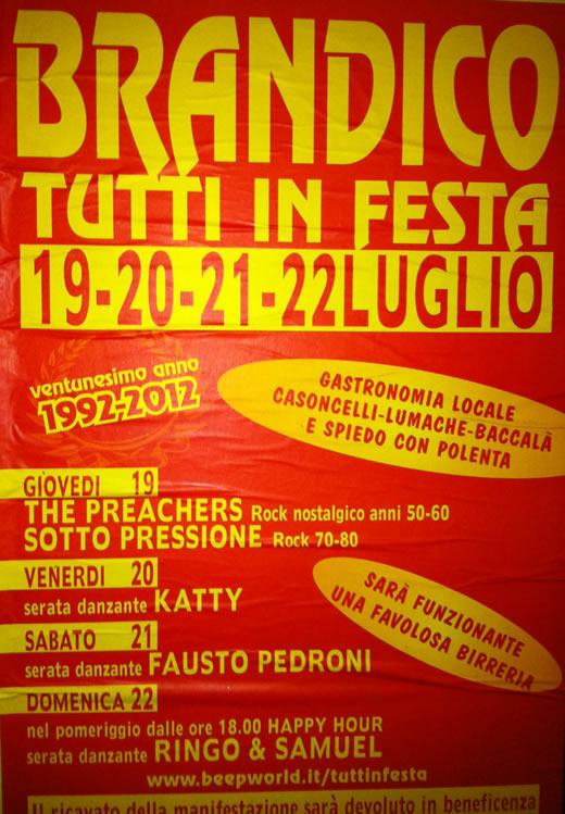 brandico in festa 2012