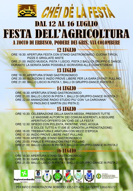 festa agricoltura a zocco di Erbusco