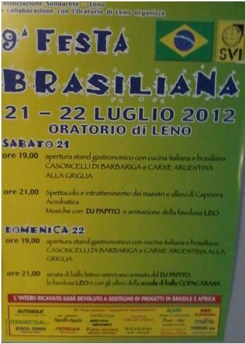 festa brasiloiana a leno