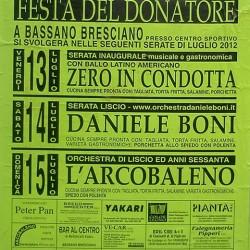 festa del donatore avis a Bassano Bresciano