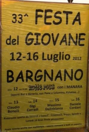 festa del giovane di Bargnano