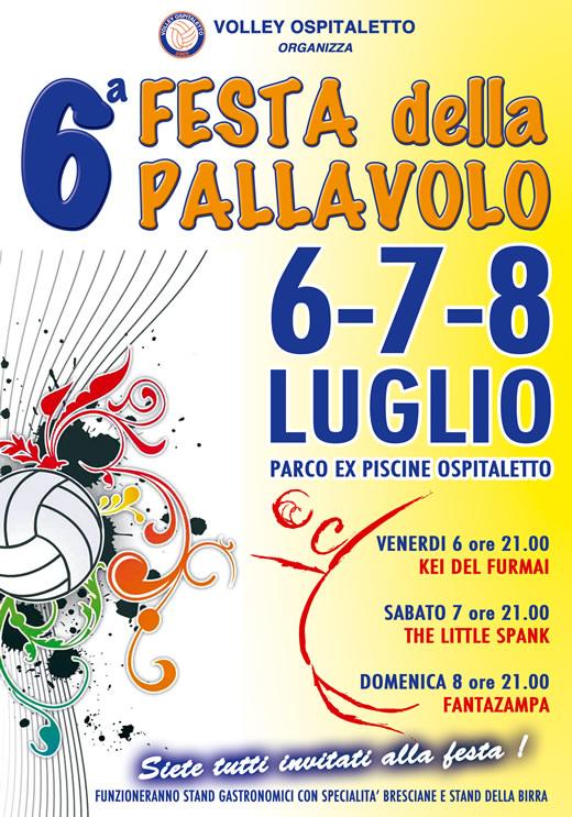 festa della pallavolo a Ospitaletto