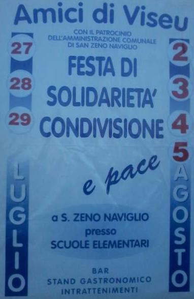 festa  della solidarietà a San Zeno