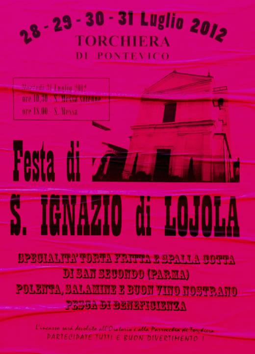 festa di san ignazio a Pontevico