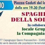 spaghettata della solidarietà a Villanuova sul Clisi