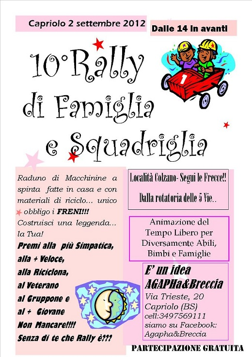 10 Rally di Famiglia e Squadriglia