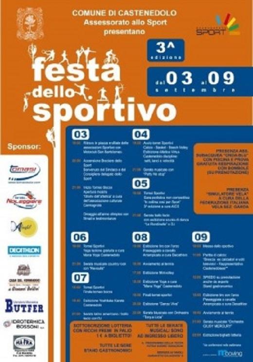3 Festa dello sportivo Castenedolo 2012