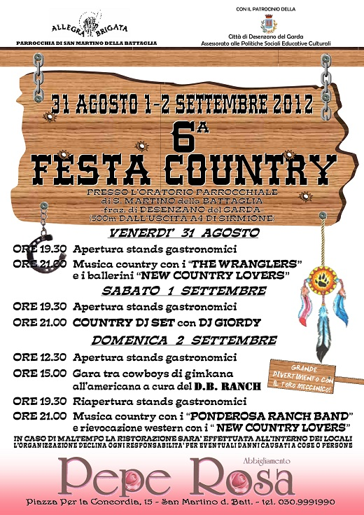 6 Festa Country 2012
