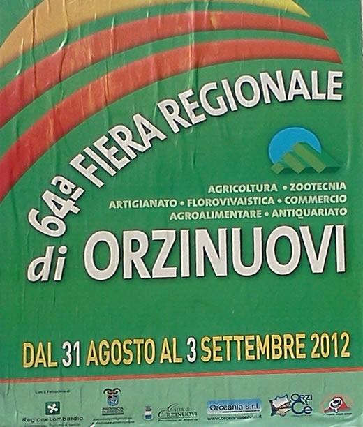 64a festa regionale di Orzinuovi