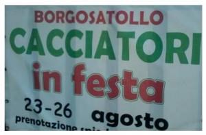 Cacciatori in festa a Borgosatollo