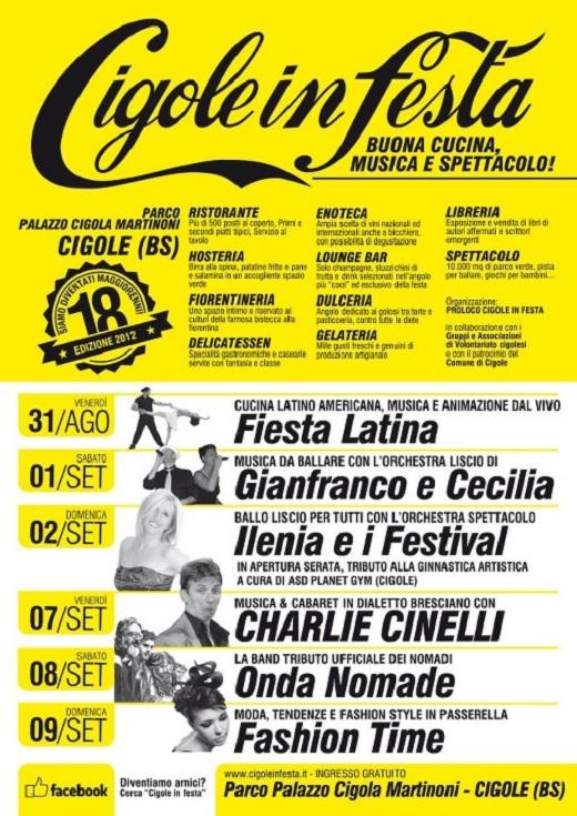 Cigole in festa 2012