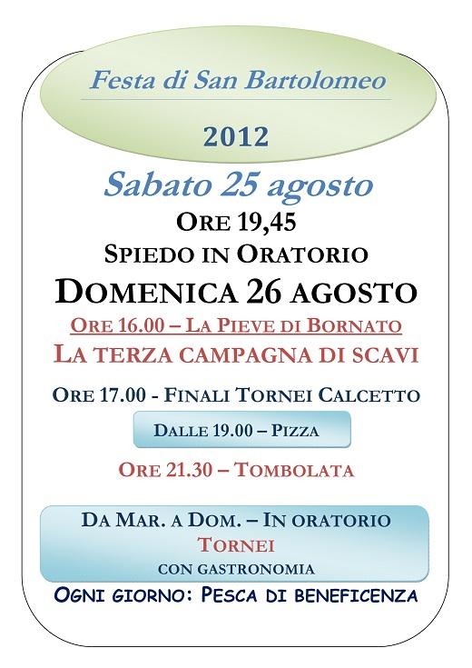 Festa San Bartolomeo Bornato - Cazzago SanMartino (2)