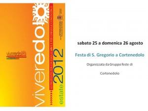 Festa di S.Gregorio - Cortenedolo - agosto