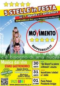 festa del Movimento 5 stelle