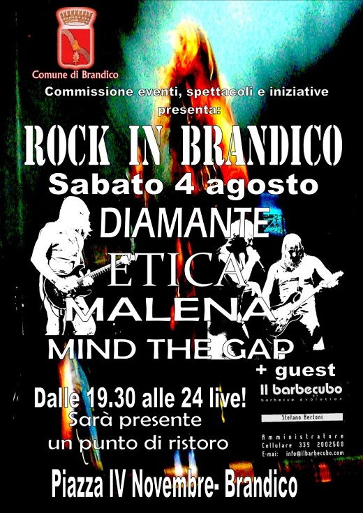Rock in Brandico