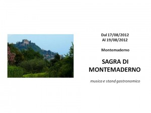 Sagra di Montemaderno