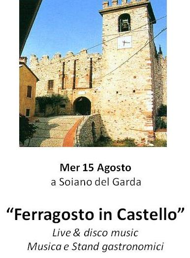 ferragosto in castello a Soiano